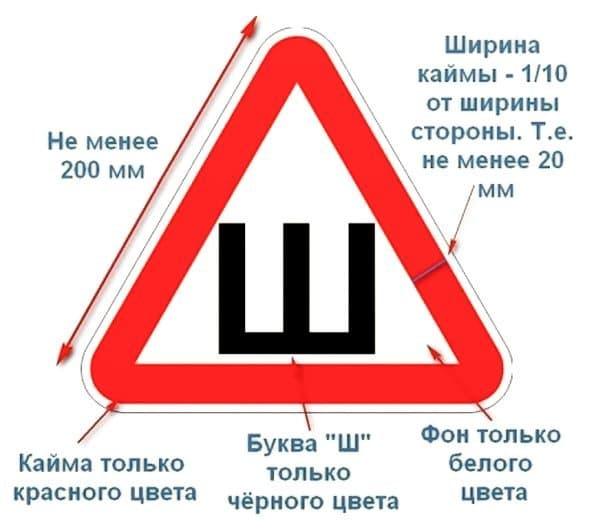 Знак «Шипы»