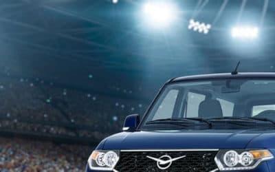 Футбольный УАЗ Патриот поступил в продажу